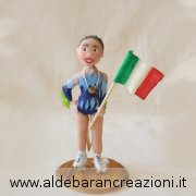 cake topper personalizzato pattinatrice, cake topper fatto interamente a mano per ragazza su pattini a rotelle