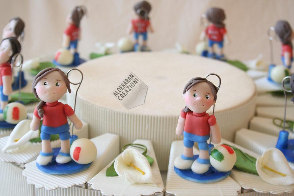 bambina pallavolo torta comunione