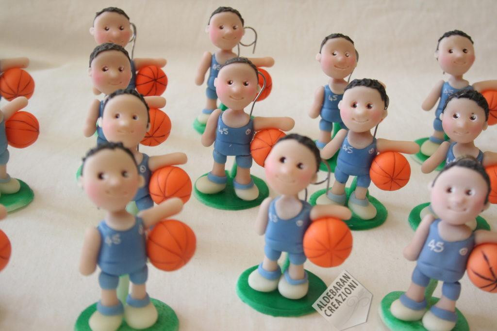 bomboniere comunione basket