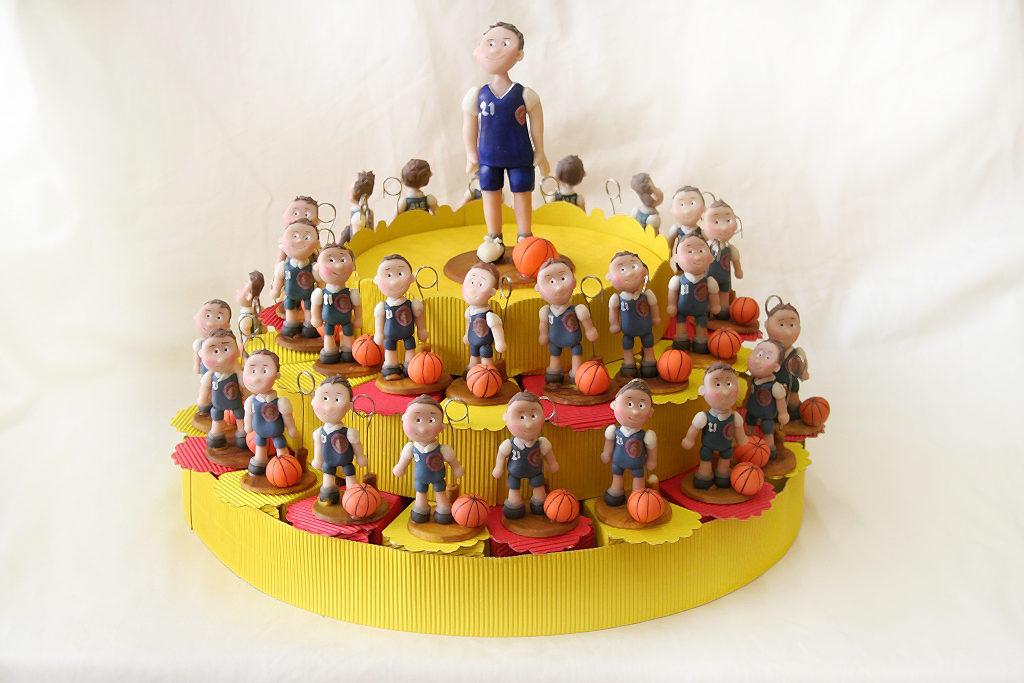 bomboniere personalizzate comunione basket