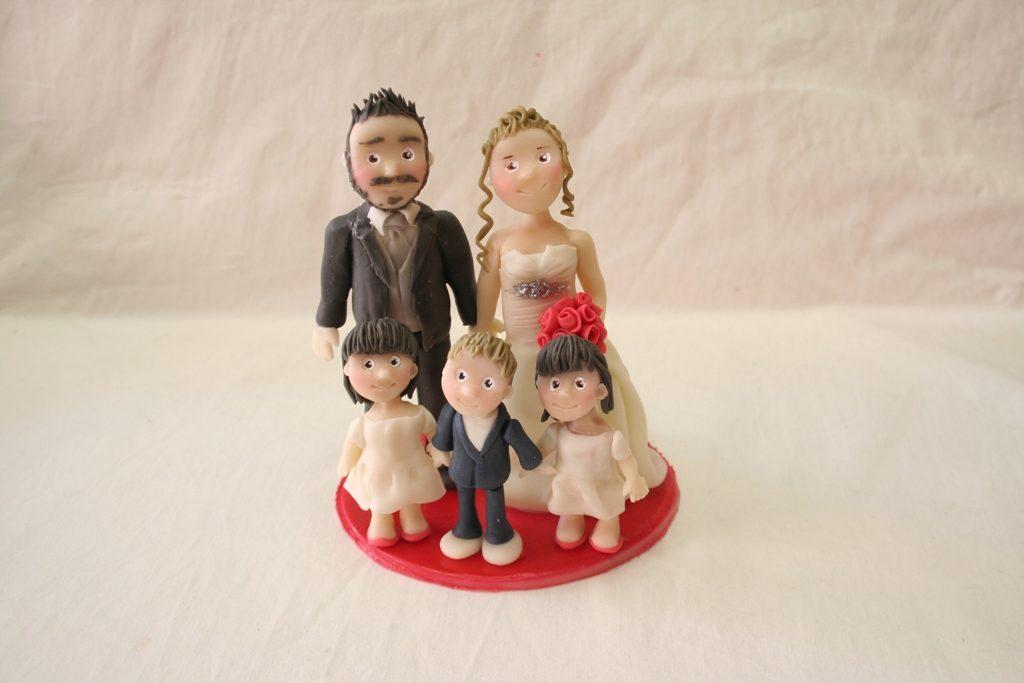 cake topper famiglia
