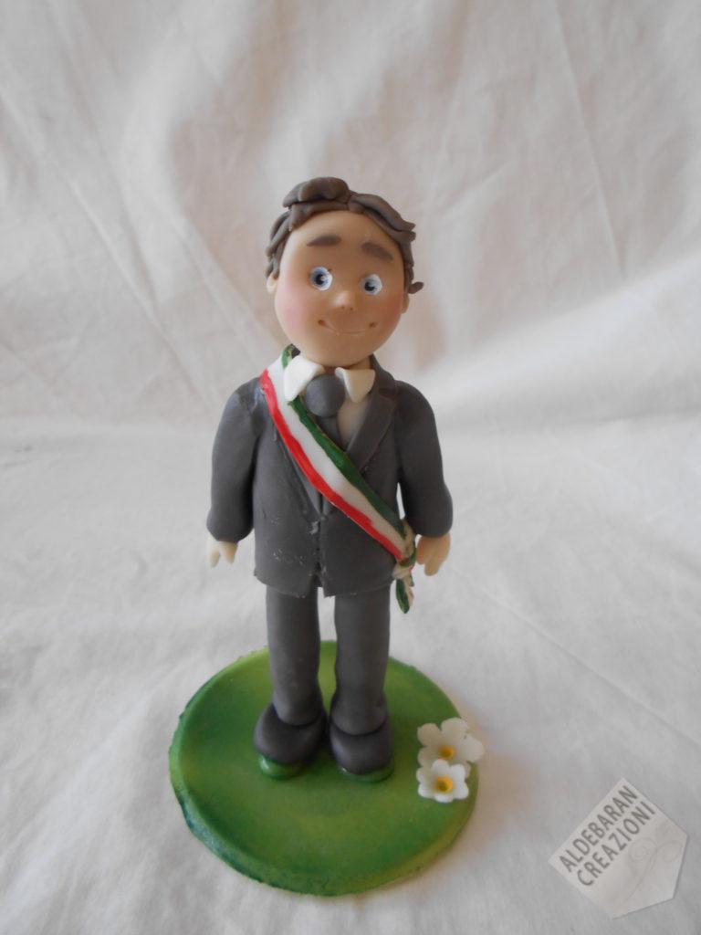 cake topper sindaco