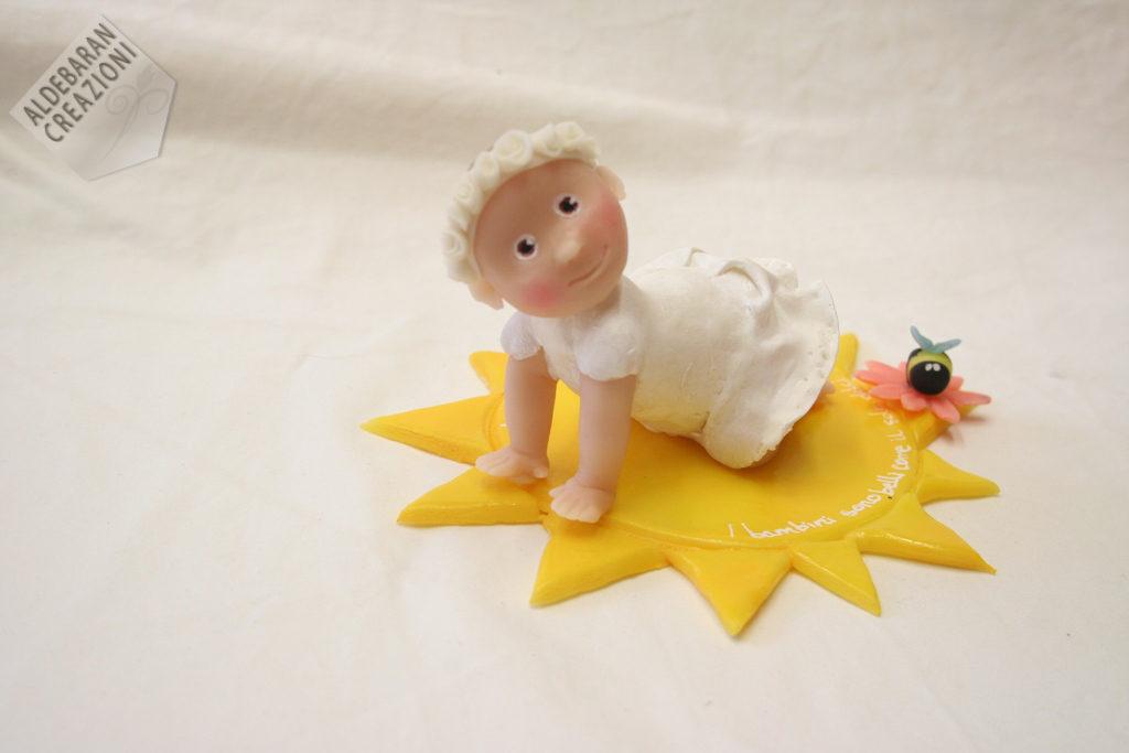 cake topper personalizzato battesimo