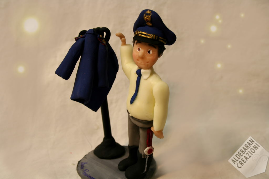caketopper pensionamento polizia stradale 1