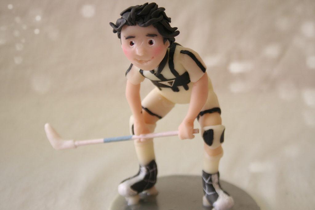 giocatore hockey statuina personalizzata 1
