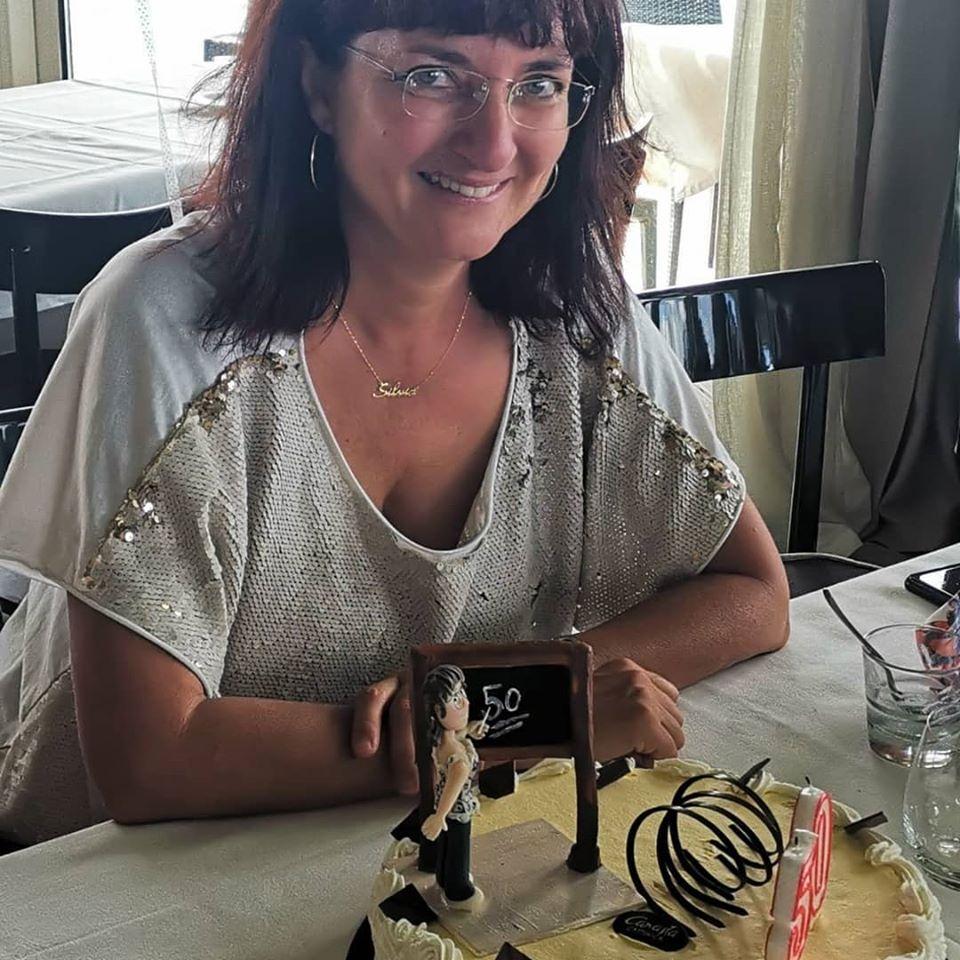 foto torta e festeggiata