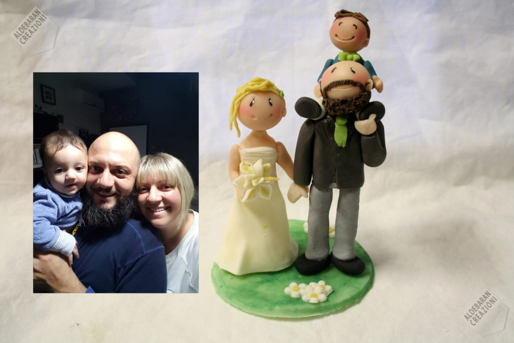 wedding dolls con bimbo a confronto