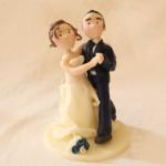 Cake Topper Matrimonio Semplice