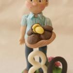 Cake Topper Compleanno per Anziani