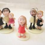 Statuine personalizzate sui testimoni di nozze gay per unioni civili