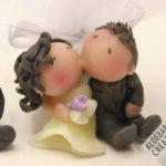 Cake Topper Matrimonio Seduti